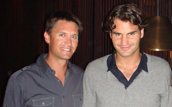 Richard Poole Roger Federer The Icehouse
