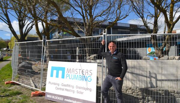 Tim Masters Masters Plumbing in Havelock Donnelly St