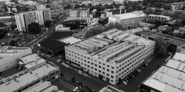 Textiles Centre - Drone Shot
